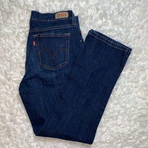 Levis 505 straight leg jeans size 10